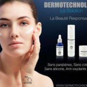 DERMOTECHNOLOGY gamme de soins Biostimulation bio & végan